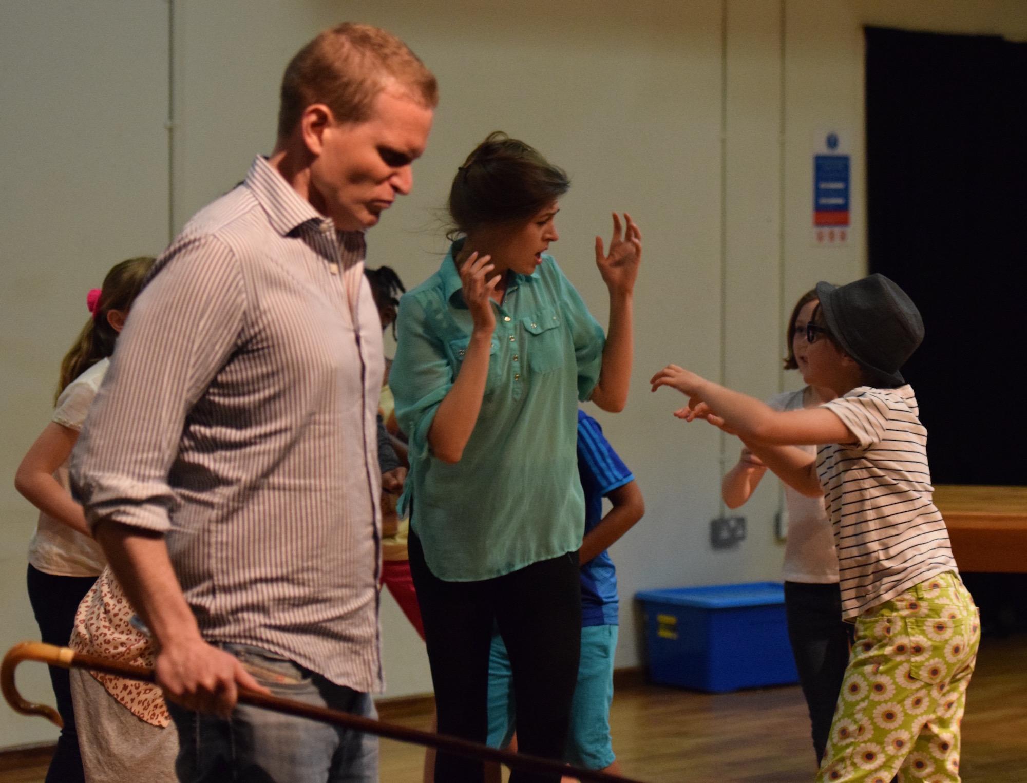'L'enfant' Rehearsal, City Lit Opera