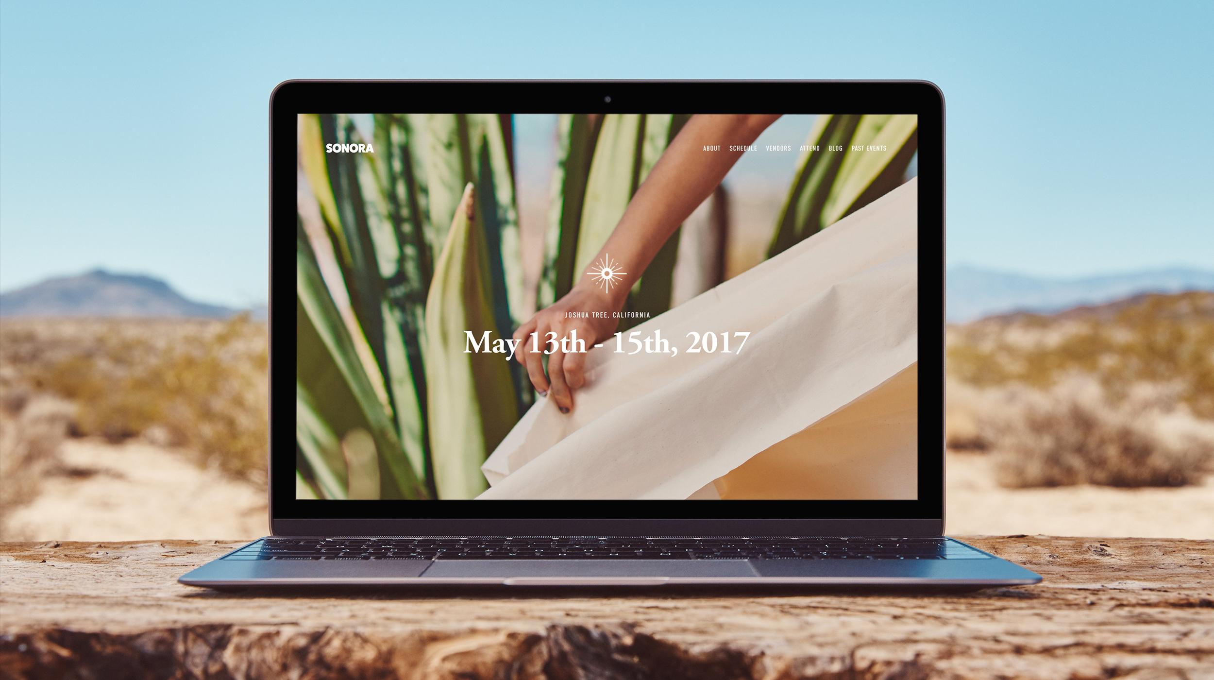 Sonora - Web / Branding