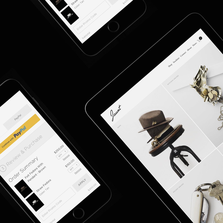 Squarespace | PayPal - Brand marketing / web / digital