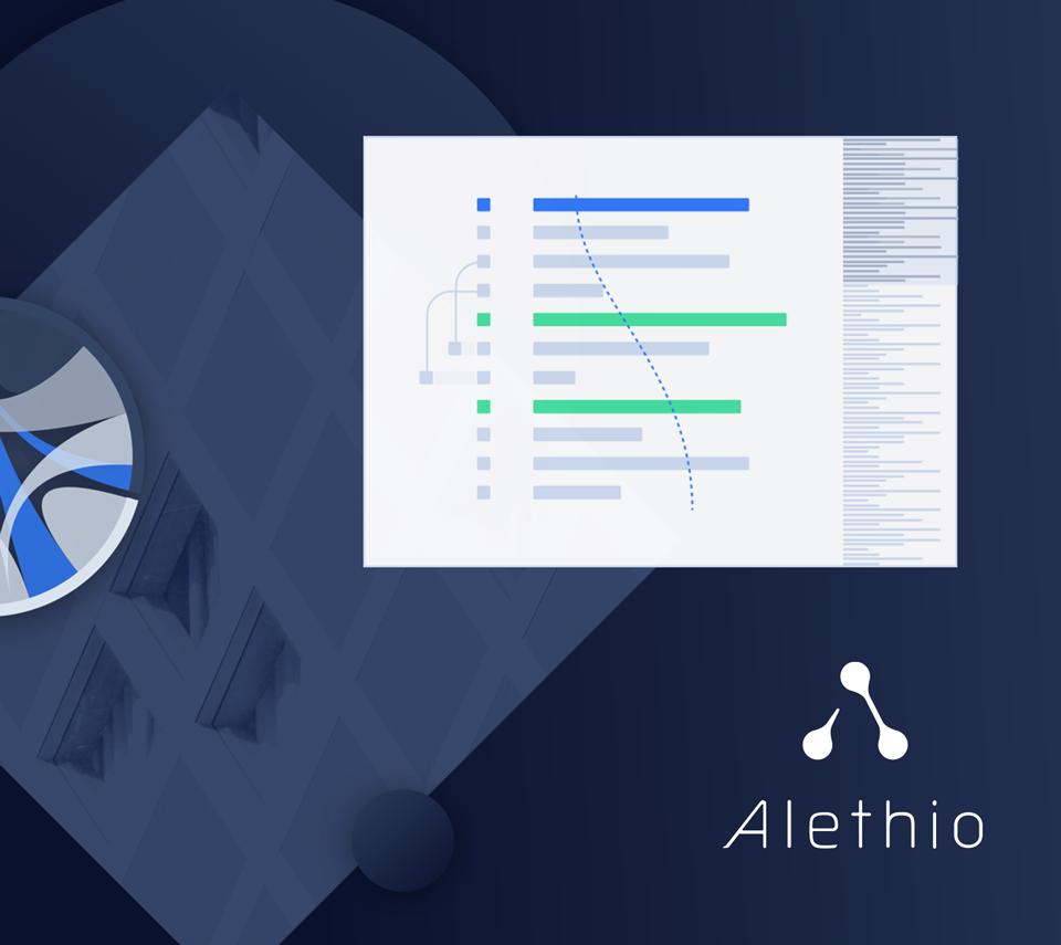 Alethio - Web Design / Visual Design / Branding
