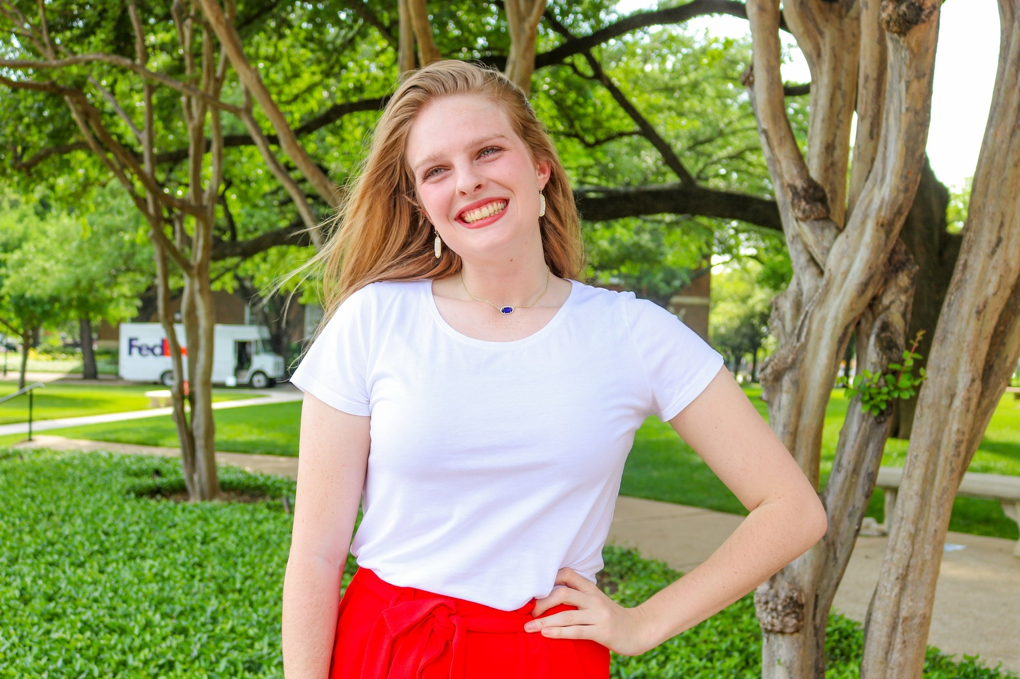 "JuliaGrace, also known as ""JG"", is a sophomore from San Antonio, Texas. She is majoring in International Studies and Economics with a minor in Spanish. She is passionate about traveling, food, and coffee. In addition to being president of Boaz, she is involved in Program Council, Consult Your Community, and RUF Campus Ministry. Her favorite memory in Boaz was last year's formal, Bows + Bow Ties, at the Dallas Arboretum."