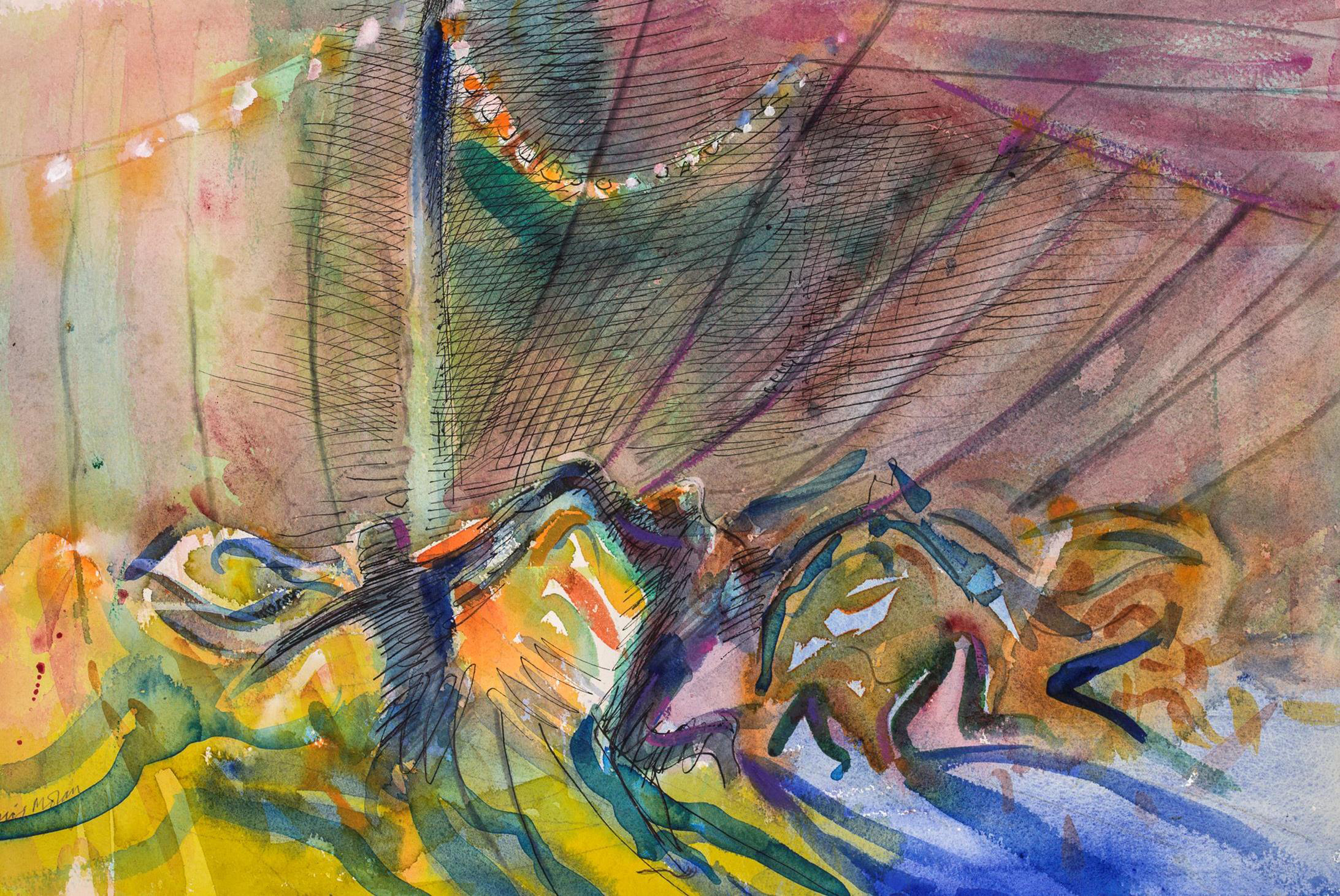 Dartmoor dance, summer dusk