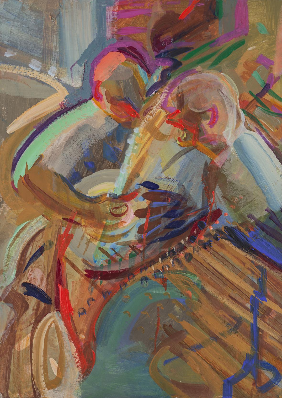 'Bluebell Polka' banjo and dulcimers