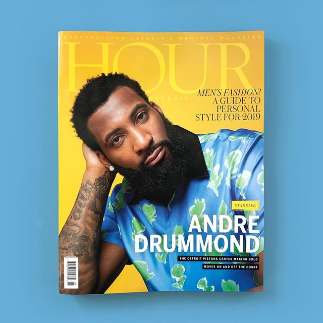 Creative directing these days 😁 I recently joined the edit/art team @hourdetroitmagazine The May Issue is on newsstands now, featuring @andredrummondd  Photography: @j.milhouse 👏🏻 Styling: @browne.andrews 👏🏻 Profile: @ladyluff 👏🏻