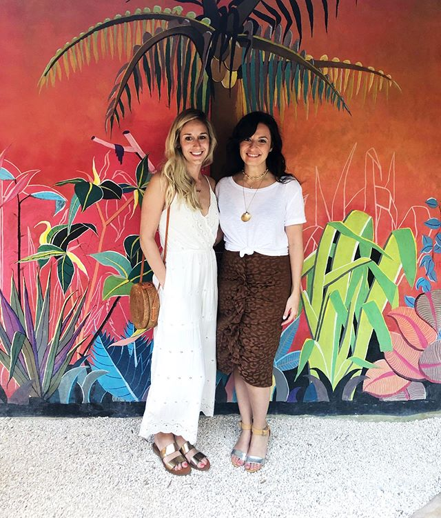 One of my favorite people on the planet is getting married today and I'm not there, so I'm going to post this pic of us in Tulum from her bachlorette trip to send all the love and good vibes through the internet universe. 🥰  Our friends became our family in NYC, and when one of your besties finds love and happiness, it is truly a special thing for all of us. Love you @aferko and @cjmak10527 ❤️🇮🇹🥂 #splish
