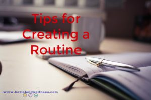 creating-a-routine