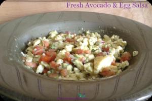 Fresh Avocado Egg Salsa 2