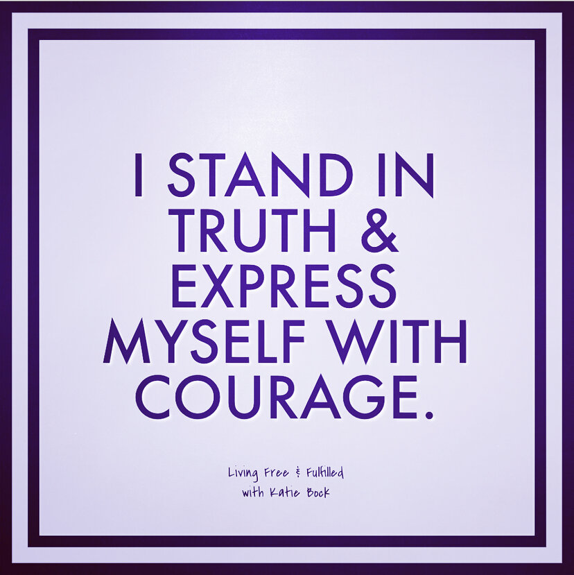 I Stand In Truth and Express Myself With Ease