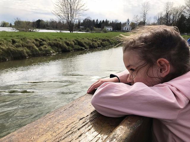 Isn't she lovely?  #mygirl #daughter #oneofmychildrenlikesthecamera #onedoesnt #canal #barge #uppercanadavillage