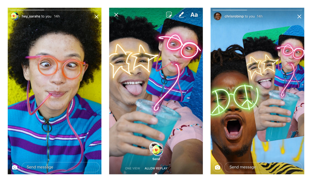 Remix is Instagram's newest DM innovation