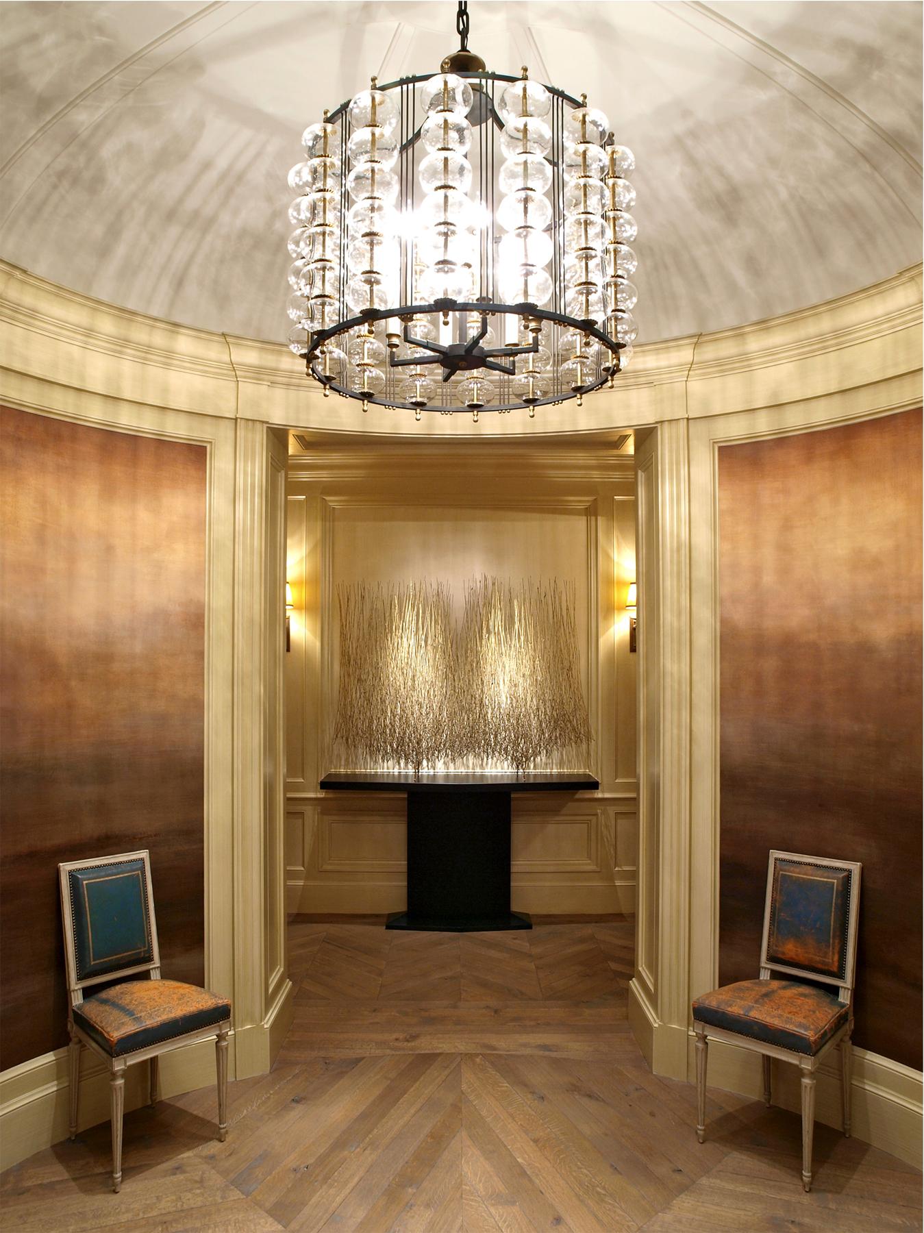 Private Collector | Design Firm: Jessica Lagrange Interiors Artist: Harry Bertoia