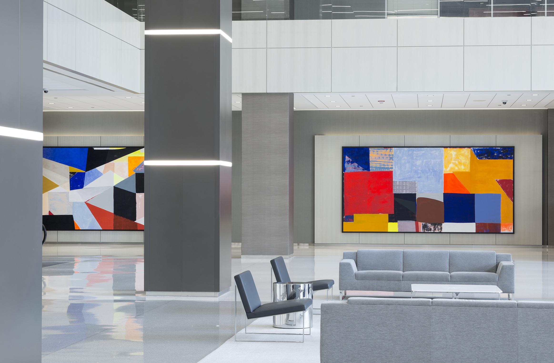 Prudential Plaza | Design Firm: Solomon Cordwell Buenz Artist: Anna Kunz