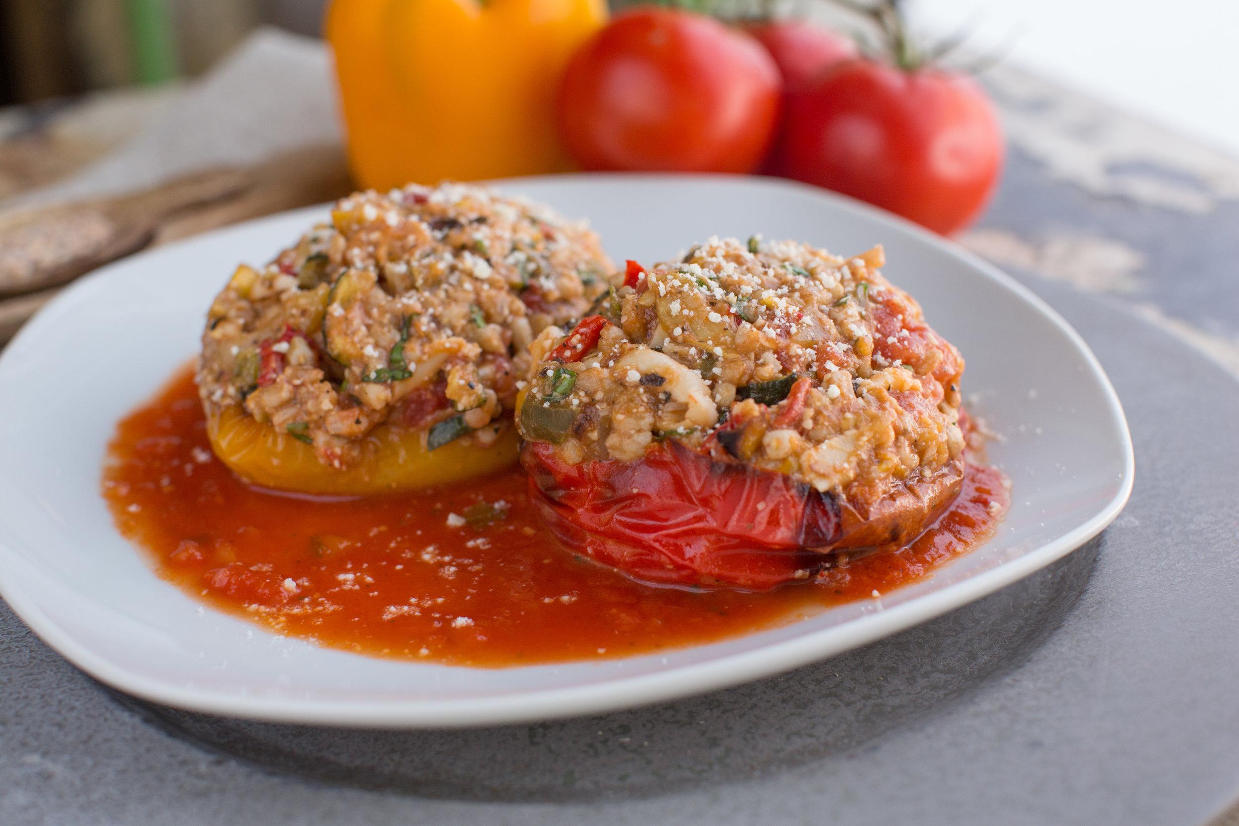 Vegetarian + Gluten Free Entreés