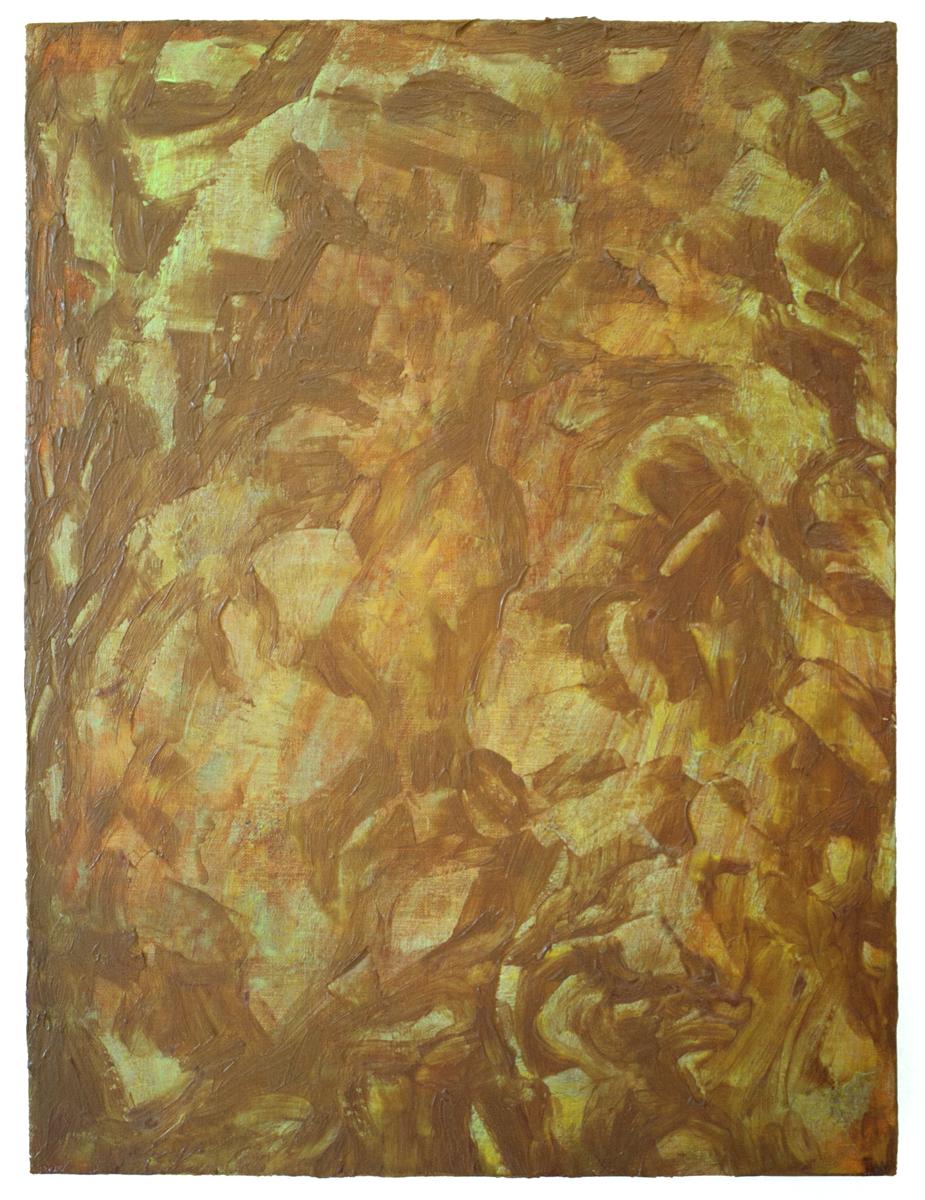 """Marsyas   Acrylic on linen  15"""" x 20""""  2017"""