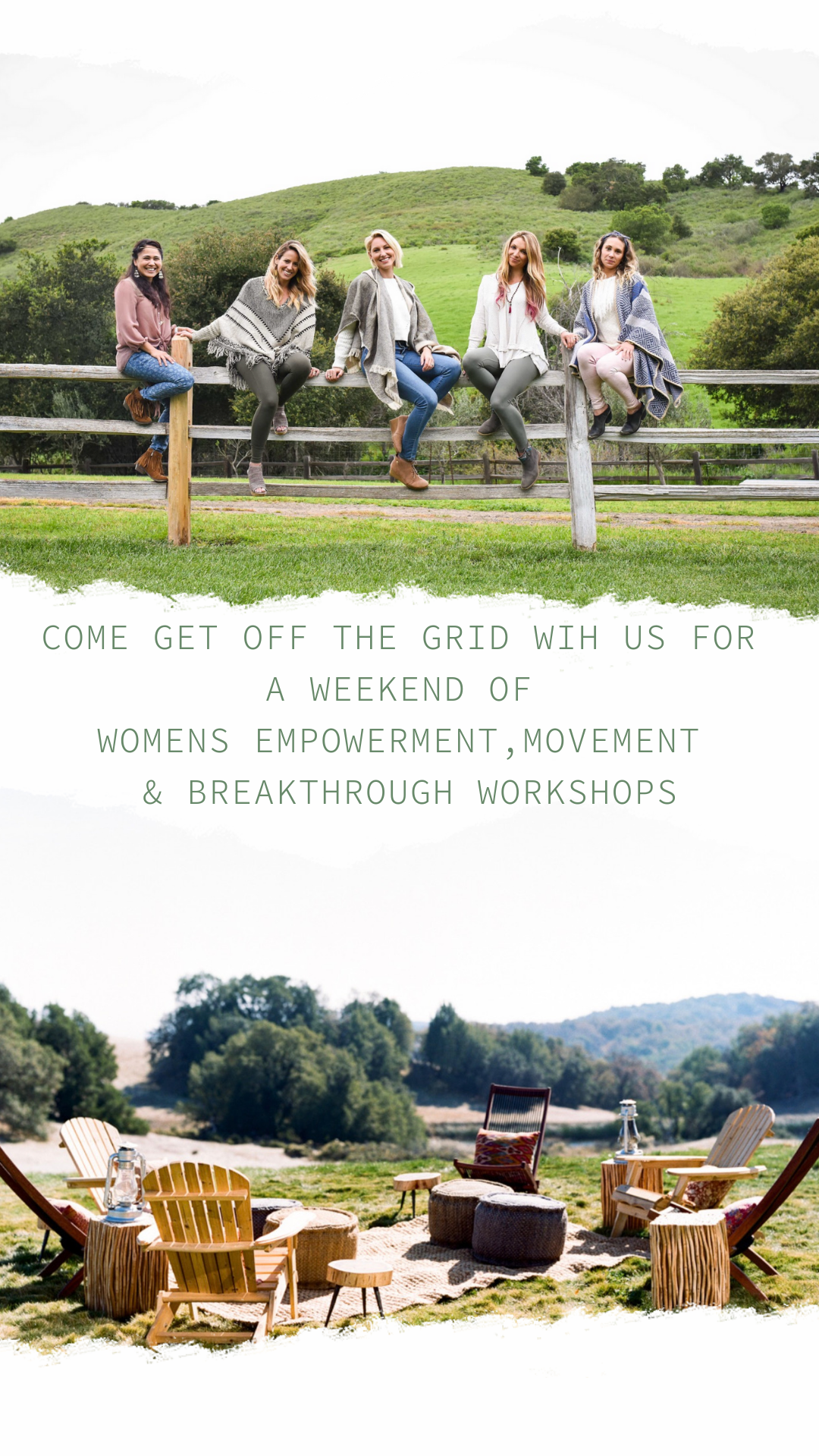 Come get off the grid wih us for  a weekend of  womens empowermentmovement   breakthrough workshops.PNG