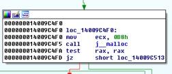 Figure 2: Object Allocation Code