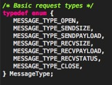 Figure 2: Available Message Types