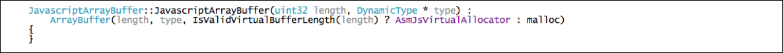 Figure      SEQ Figure \* ARABIC    9     - JavascriptArrayBuffer Constructor  (Click to enlarge)