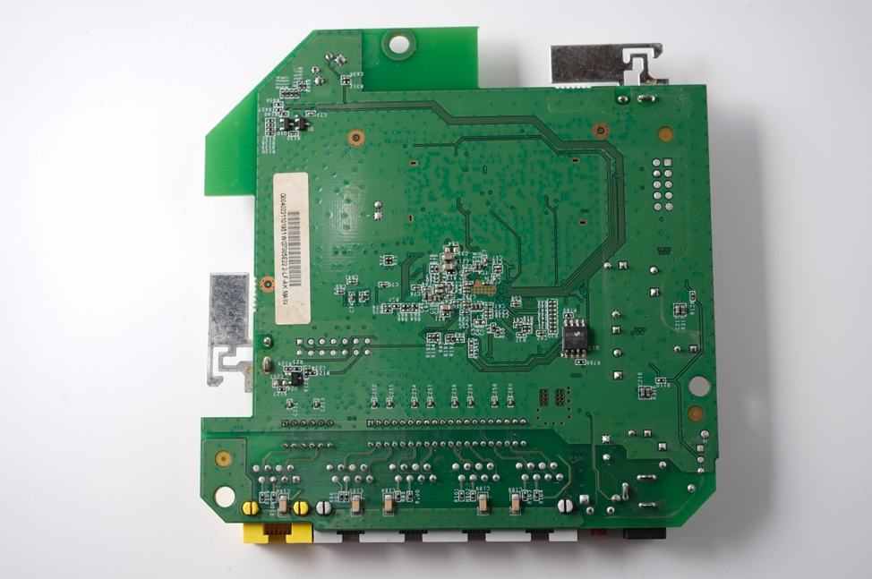 Figure 6 - Back side of the printed circuit board