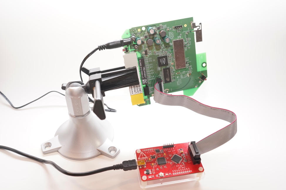 Figure 14 - The completed hardware setup