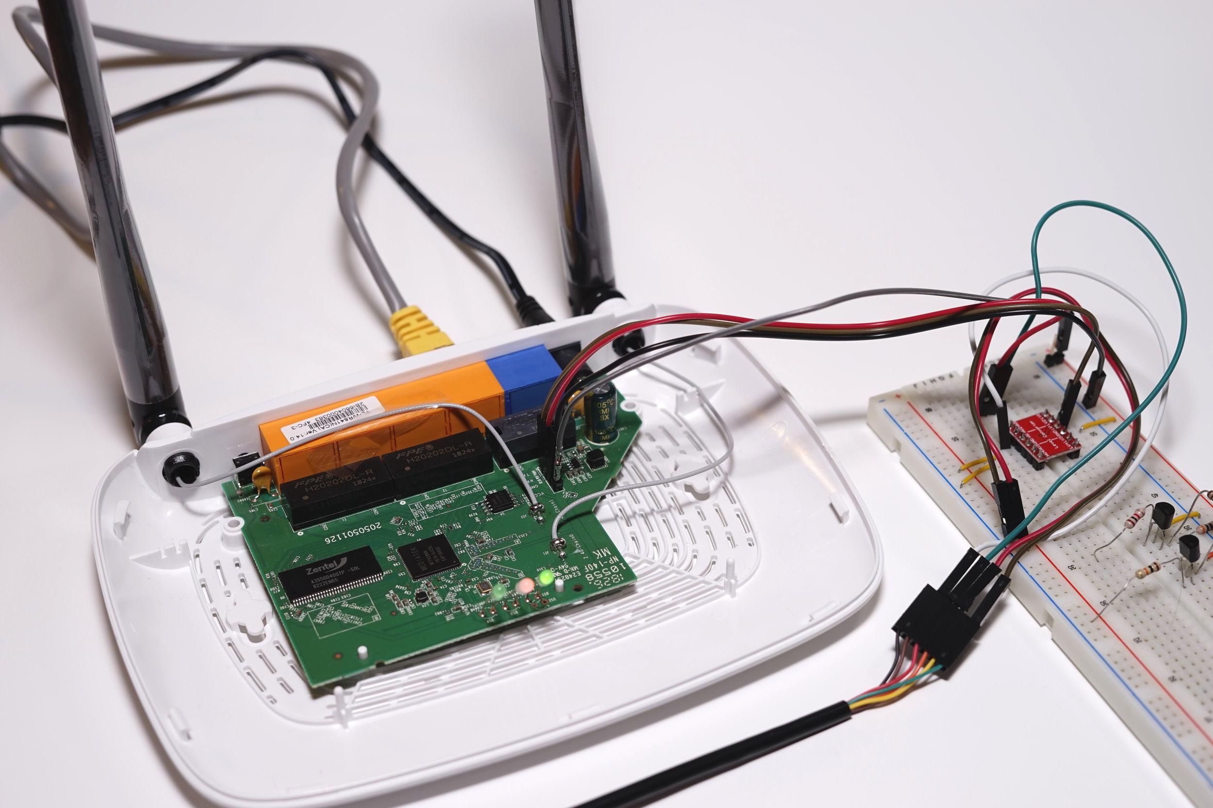 Figure 15 - Complete hardware setup