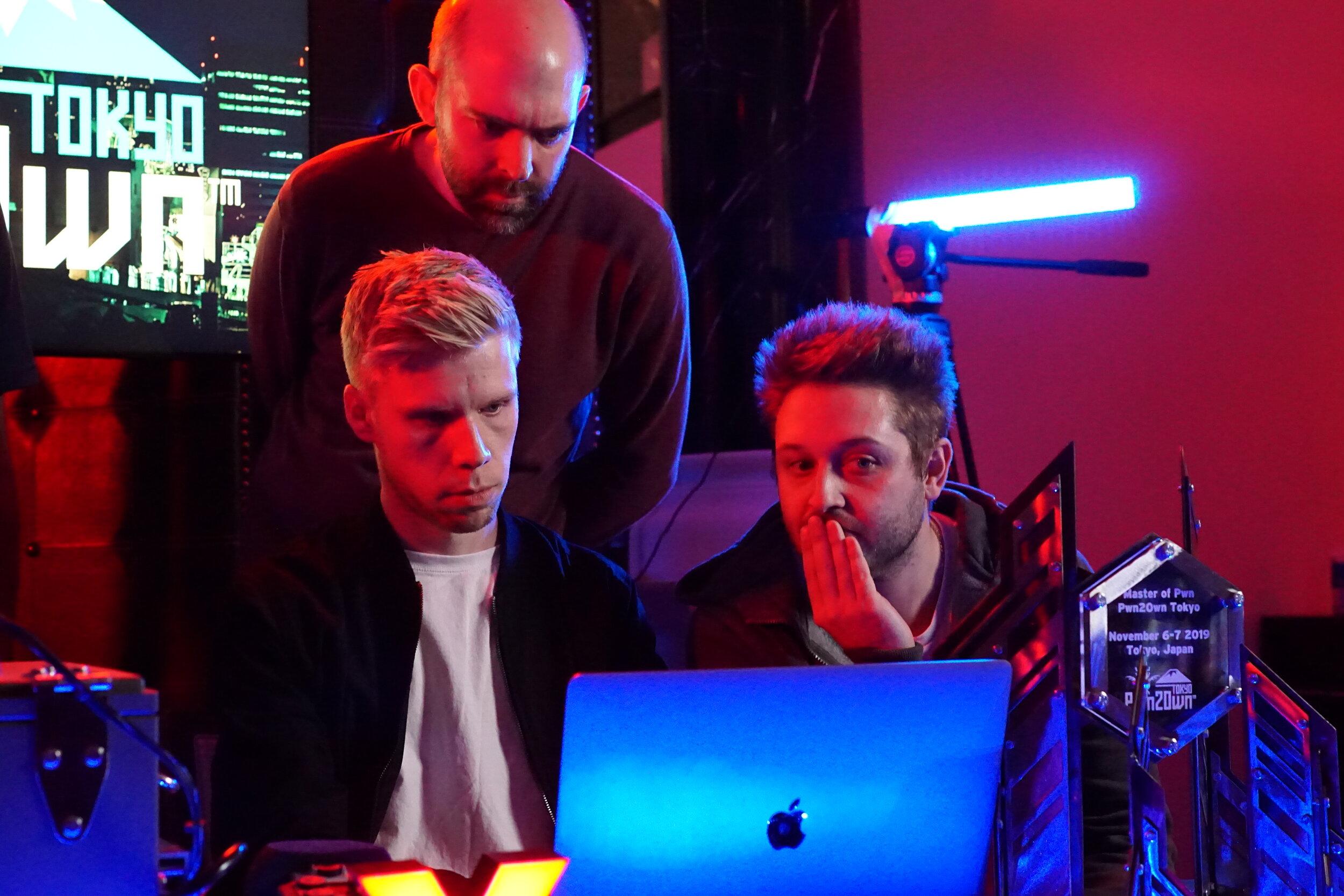Mark Barnes, Max Van Amerongen, and James Loureiro of F-Secure Labs)