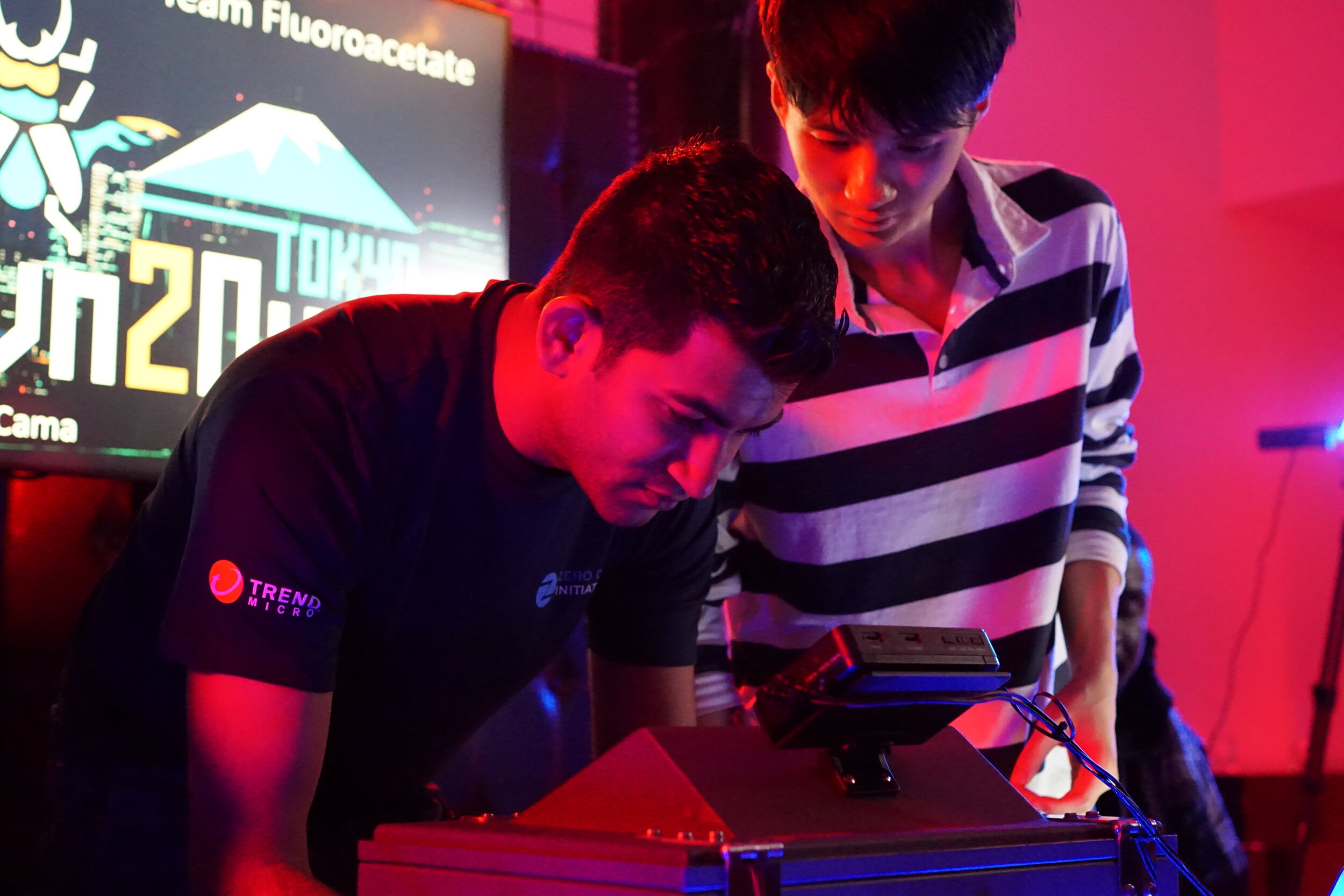 ZDI's Jasiel Spelman and Richard Zhu of Fluoroacetate