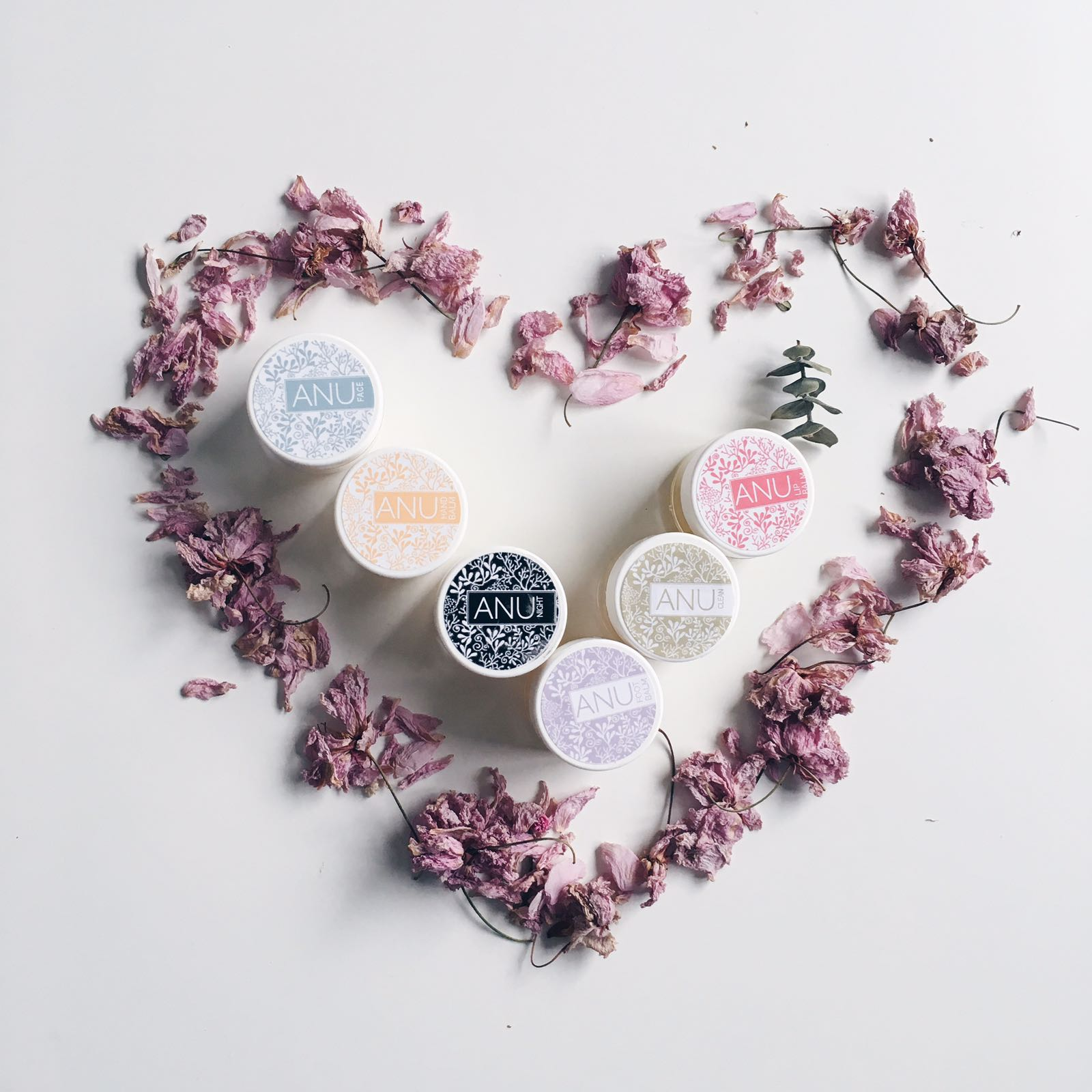 skincare products from Irish brand called Anu