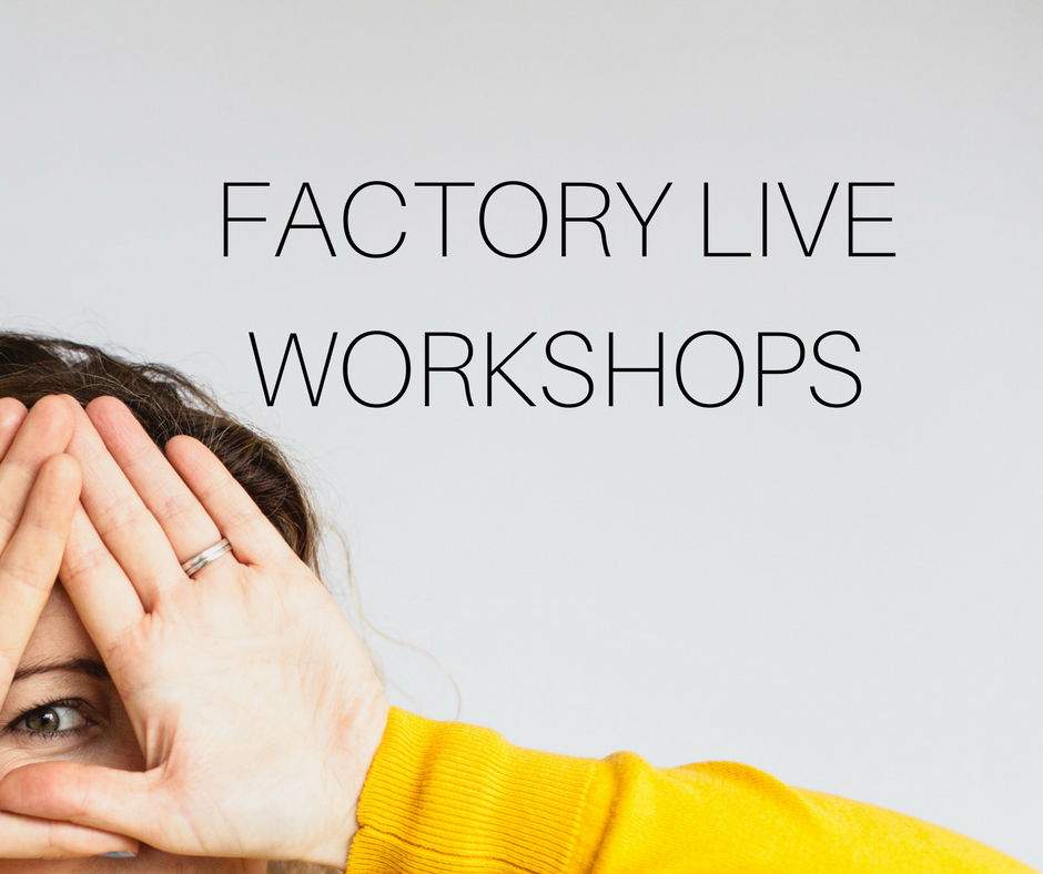 The Biscuit Factory Live Workshops