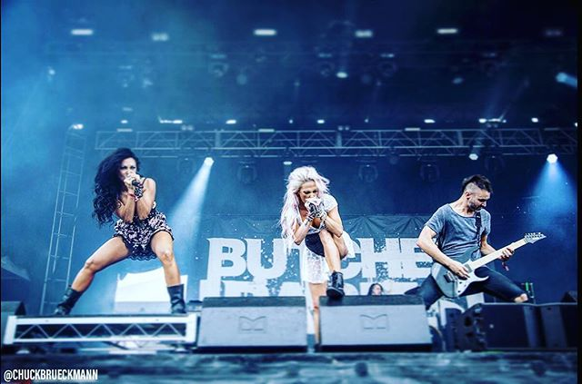 Cleaver. @butcherbabies #tourfuel 📷 by @chuckbrueckmann