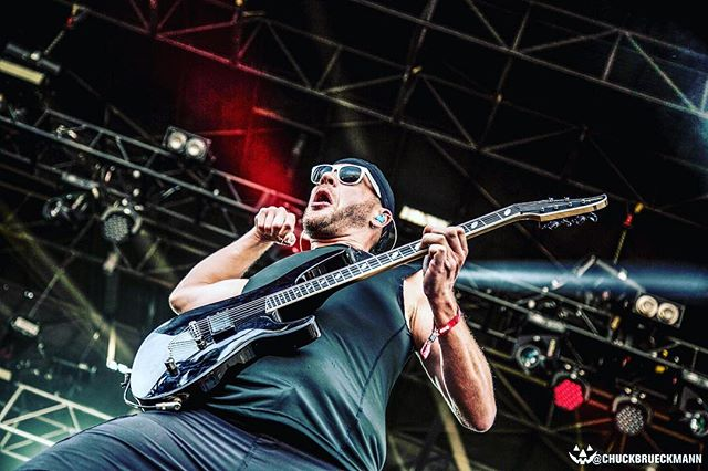 "Killswitch Engage ""Guns"". #killswitchengage #adamd #tourfuel"