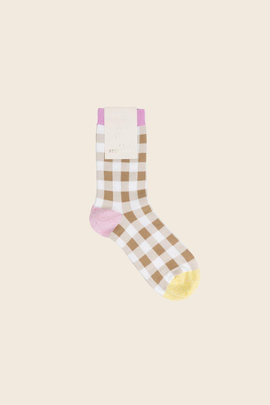 STINE GOYA - Iggy Check Socks