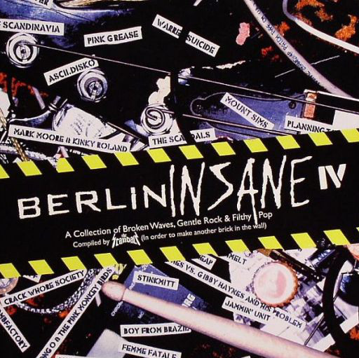 Berlin Insane IV | Lovelovelove  Berlin Insane, a  compilation series by Pale Music boss Steve Morell spanning genres electronic, rock, pop rock, EBM, punk, new wave, electro and synth-pop, and featuring Berlin mainstays such as T.Raumschmiere, Mount Sims, Peaches, Noblesse Oblige, Planningtorock and of course My Name is Claude as his former act, Lovelovelove.