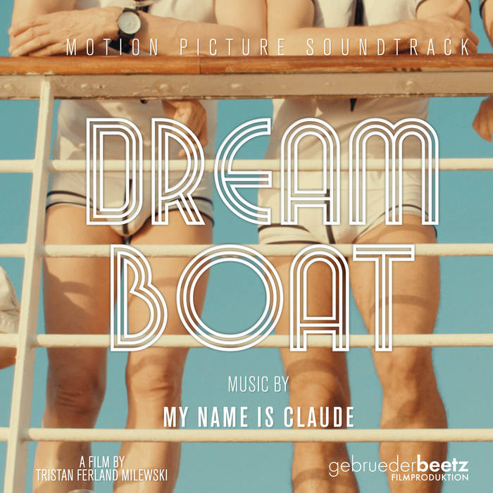 "Dream Boat Original Motion Picture Soundtrack  ""Dream Boat was a dream project. As a musician, to enter the deep and touching universe of director Tristan Ferland Milewski was to enter a world of consummate inspiration. Through this album I have unified everything I have ever done; piano, orchestra, electronic and techno are present here. All I know and all I love could be explored and utilised in the making of this soundtrack, forming a bridge between my past work to the two new works that immediately follow: You Cannot Enter The Disco, and Can't Cheat. The tracks are presented in chronological order as they occur in the film, allowing us to ""see"" the movie in our heads as we listen.""  – My Name is Claude  Documentary directed by Tristan Ferland Milewski, produced by gebrueder beetz filmproduktion  Release: December 12, 2017  Composition, vocals, recording and production: My Name is Claude Mastering: Matthieu Petitmangin Original cover art designed by Claude Ferland Milewski"