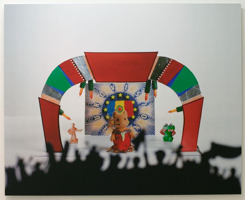Nessapotania Douze Points (photo print), 2007.  Graduate Show , National College of Art and Design