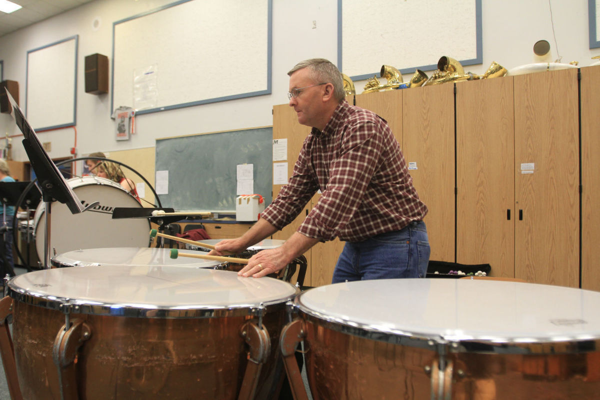 Drew Langley Manipulates the Timpani