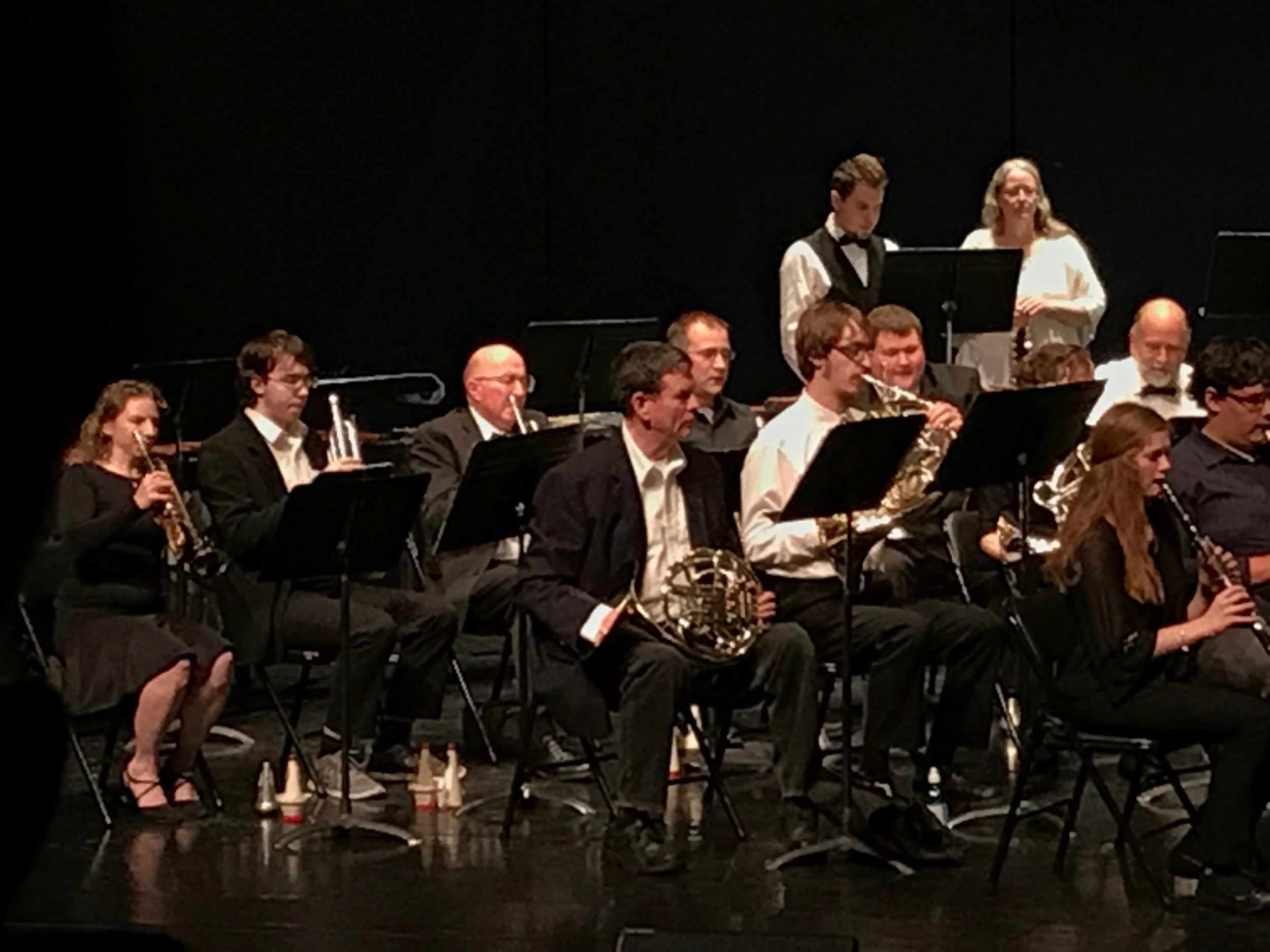 French Horns and Trumpets
