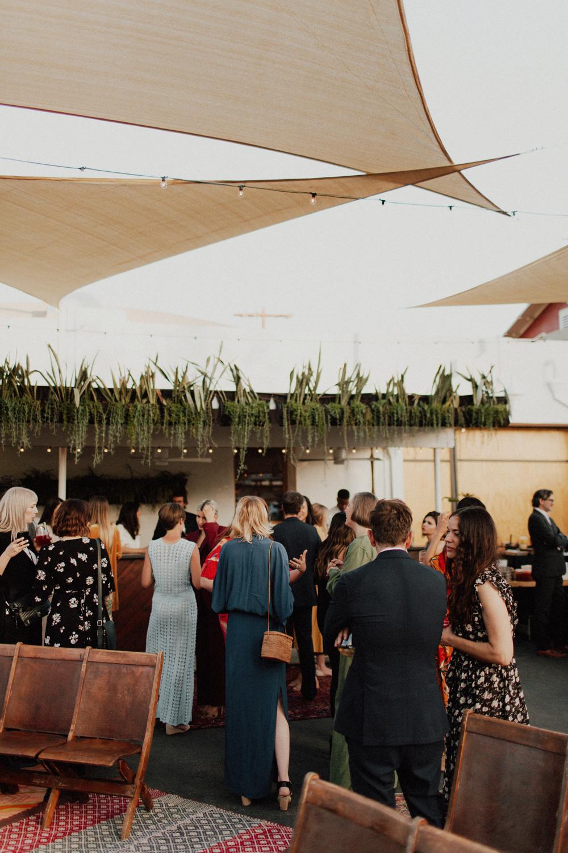 Office Party Garden Wedding Cocktail Hour.jpg