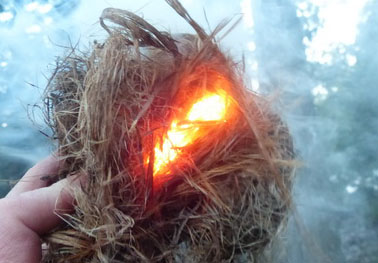 Learn about and experiment with different ways to start a fire, purify drinking water, and build your own shelter! -