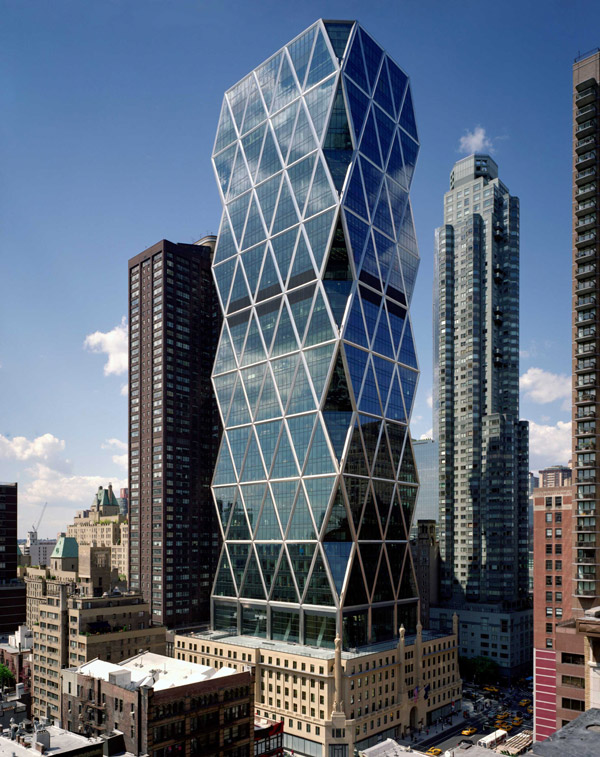 Hearst Tower completed in 2006