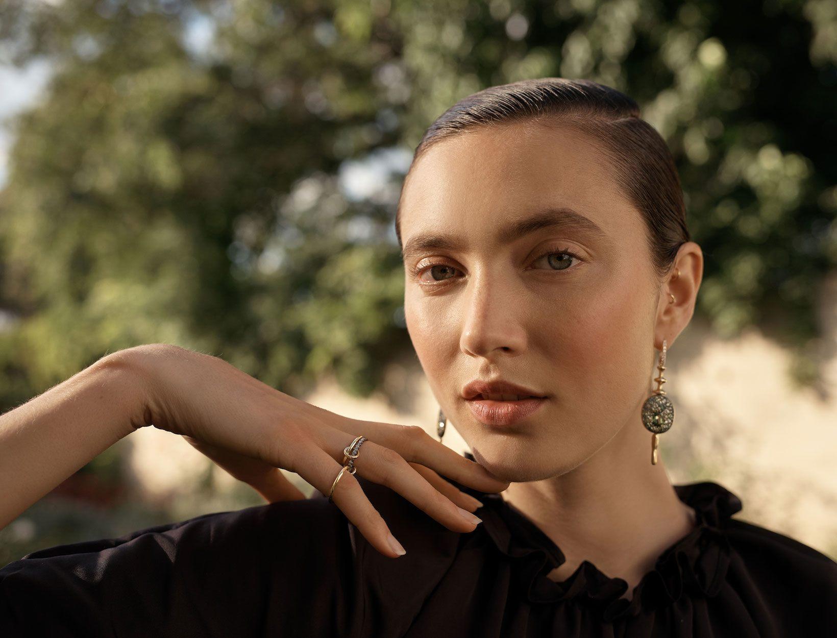 VRAM Jewelry Chrona Earrings on GOOP