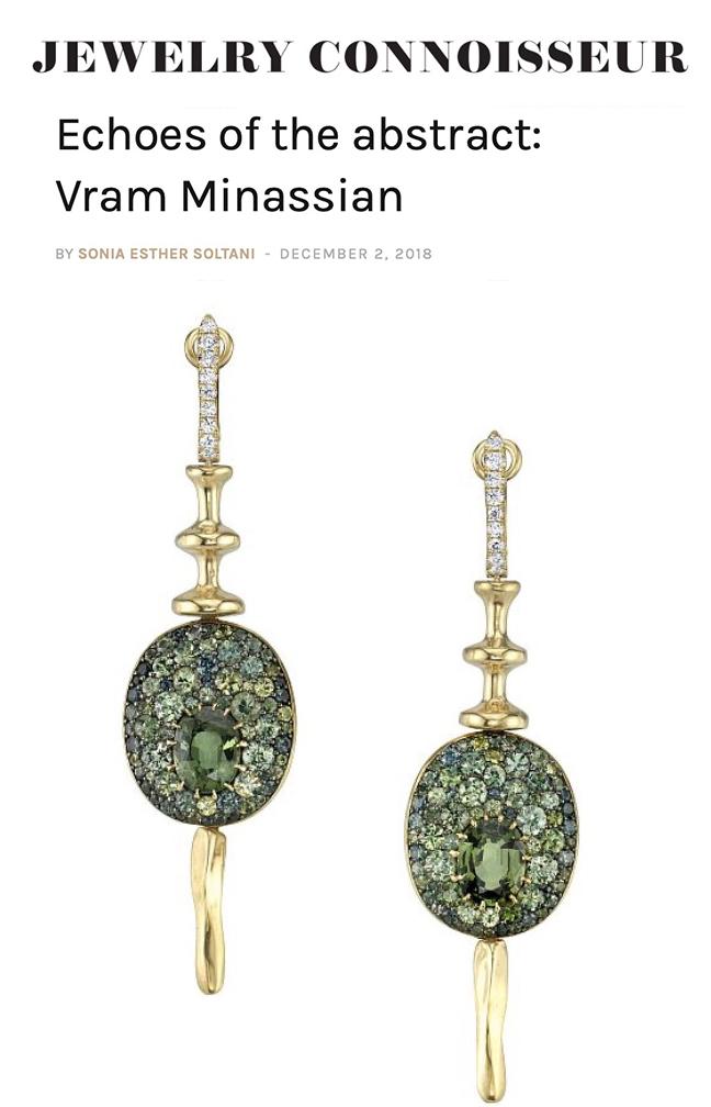 VRAM Jewelry Jewelry Connoisseur Magazine Interview