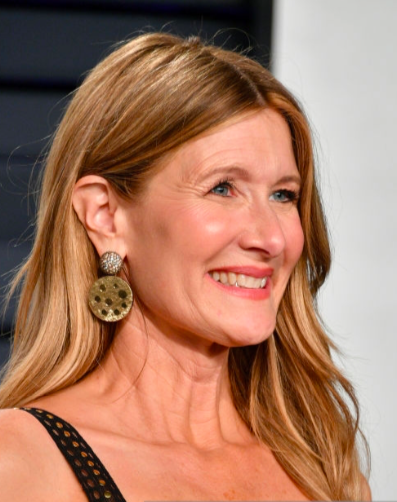 Laura Dern wears VRAM Jewelry Earrings Vanity Fair Oscars 2019
