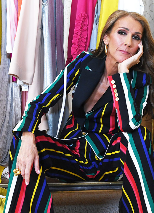 Céline Dion wears VRAM Jewelry ring at L'Oréal Paris
