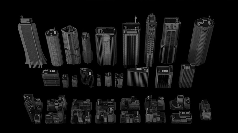 Neo Tokyo Kitbash. Joshua Cotter