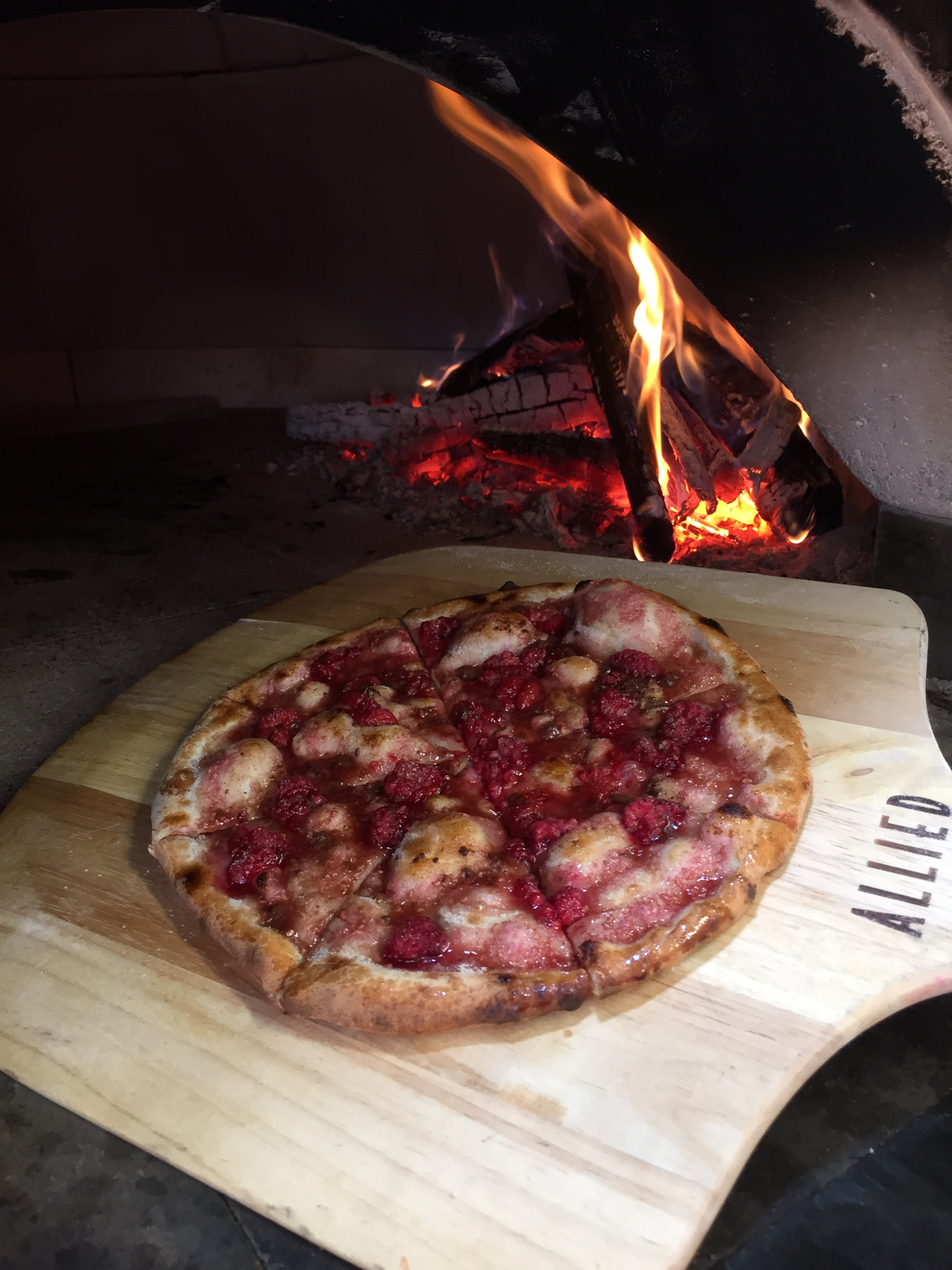 Featuring Fresh Raspberry Mascarpone with Ghirardelli Dark Chocolate