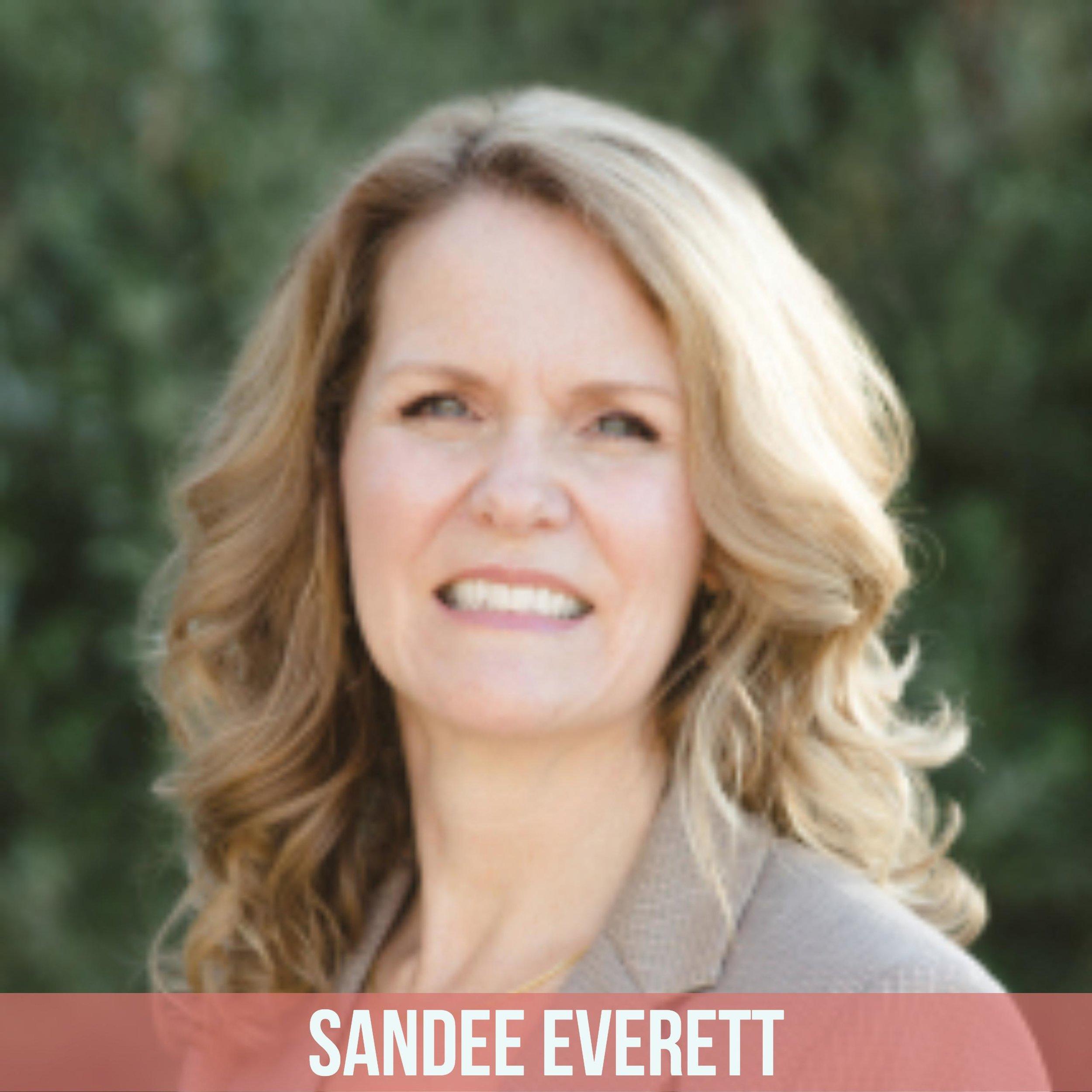 Sandee Everett  sandee.everett@gmail.com