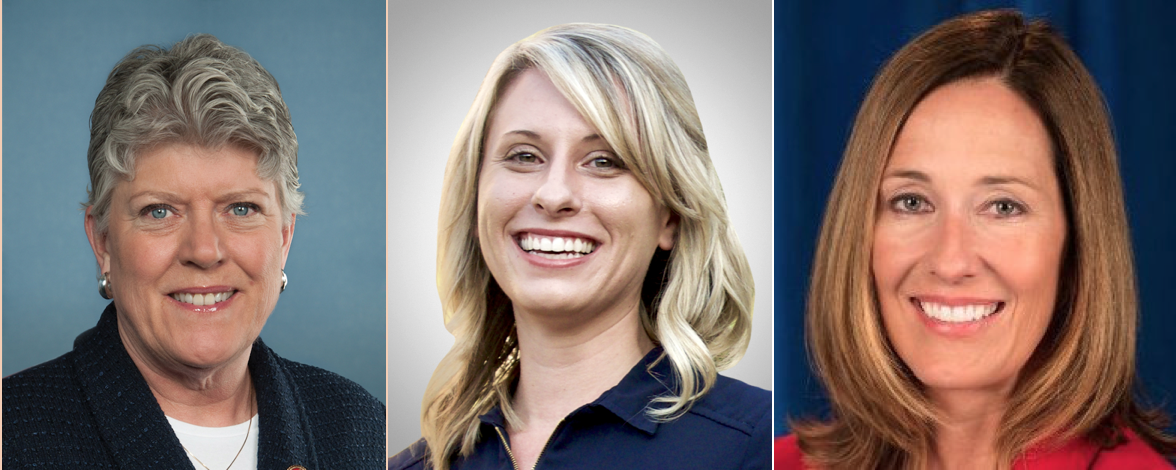 Rep. Julia Brownley, Katie Hill, and Assembly Member Jacqui Irwin