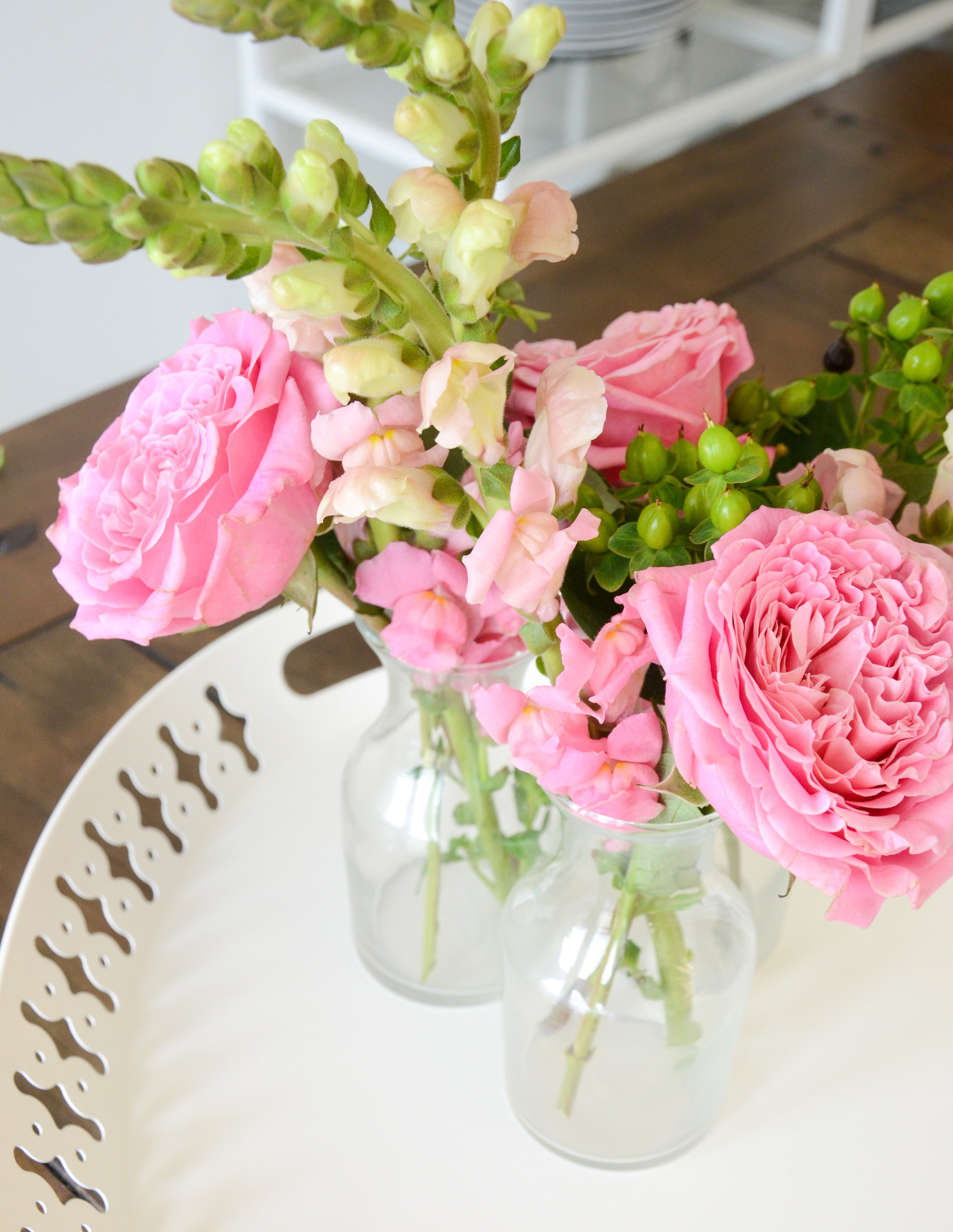 flowers bud vases above.jpg